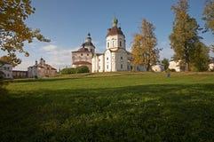 Monastère de Kirillo-Belozerskij. Photo stock