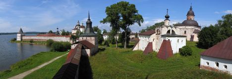 Monastère de Kirilo-Belozersky. Images libres de droits