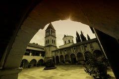 Monastère de Krka Photographie stock libre de droits
