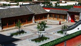 Monastère de Kumbum images libres de droits