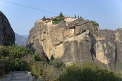 Monastère de la trinité sainte, Meteora Images stock