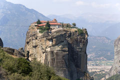 Monastère de la trinité sainte, Meteora Image stock