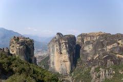 Monastère de la trinité sainte, Meteora Photo stock