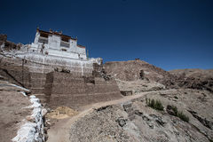 Monastère de Lamayuru, Ladakh, Inde Photographie stock libre de droits