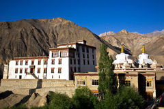 Monastère de Lamayuru, Leh-Ladakh, Jammu-et-Cachemire, Inde Photographie stock
