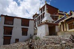 Monastère de Likir dans Ladakh, Inde Image stock