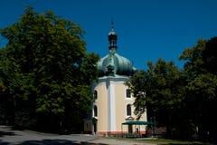 Monastère de Lomec utilisé pour le pèlerinage Photo stock