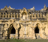 Monastère de Maha Aungmye Bonzan, Inwa, Birmanie Image stock