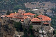Monastère de Meteora Image stock