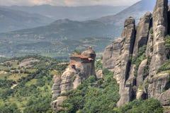 Monastère de Meteora Image libre de droits