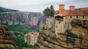 Monastère de Meteora Photo libre de droits