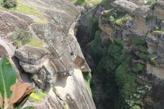 Monastère de Meteora en Grèce, miracle Photo stock