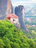 Monastère de Meteora, Grèce Photographie stock libre de droits