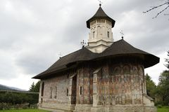 Monastère de Moldovita Photographie stock libre de droits