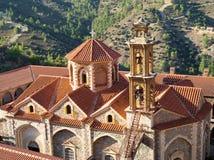 Monastère de montagne en Chypre Image libre de droits