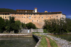 Monastère de Montehano_Santo?a Photographie stock libre de droits