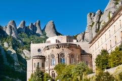 Monastère de Montserrat, Espagne Photographie stock libre de droits