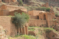 Monastère de MOR Evgin, Mardin. photographie stock libre de droits