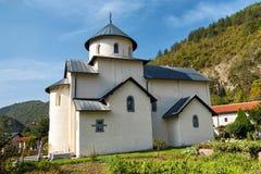 Monastère de Moraca, Monténégro image stock