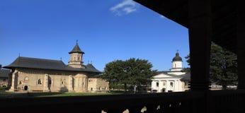 Monastère de Neamt images libres de droits