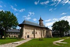 Monastère de Neamt en été Photographie stock libre de droits