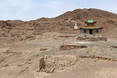 Monastère de Nomgon Mongolie Photographie stock libre de droits