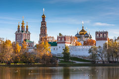 Monastère de Novodevichy, Moscou, Russie photo stock