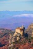Monastère de paysage de St Nicholas Anapausas Photos libres de droits