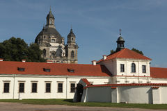 Monastère de Pazaislis, Kaunas, Lithuanie Photo stock