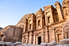Monastère de PETRA Photo stock