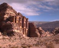 Monastère de PETRA photos stock