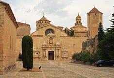 Monastère de Poblet Photos libres de droits