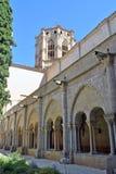 Monastère de Poblet Photographie stock libre de droits