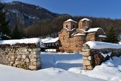 Monastère de Poganovo, Serbie Images libres de droits