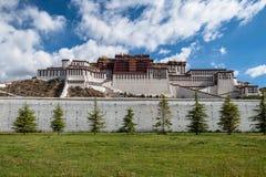 Monastère de Potala au Thibet Photos libres de droits