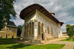 Monastère de Probota, Roumanie photos libres de droits