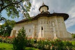 Monastère de Probota, Roumanie Photographie stock libre de droits