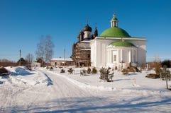 Monastère 1544 de résurrection de Goritskii Photographie stock libre de droits