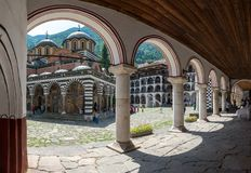 Monastère de Rila Photographie stock