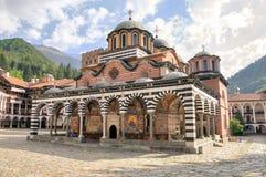 Monastère de Rila, Bulgarie Photographie stock libre de droits