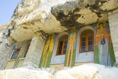 Monastère de roche Image stock