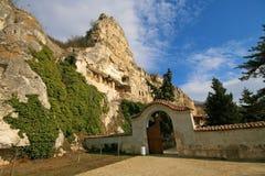 Monastère de roche photos libres de droits