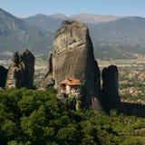 Monastère de Roussanou Images libres de droits