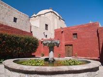 Monastère de rue Catherine Images libres de droits