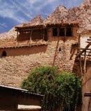Monastère de rue Catherine de mont Sinaï Photographie stock
