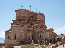 Monastère de rue Panteleimon, Ohrid, Macédoine Photographie stock libre de droits