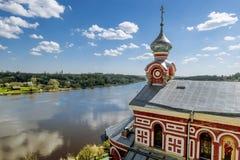 Monastère de Saint-Nicolas des hommes dans Staraya Ladoga Russie Images libres de droits