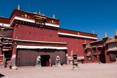 Monastère de Sakya Photos stock