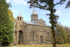 Monastère de Sameba-Jikheti, la Géorgie photographie stock libre de droits