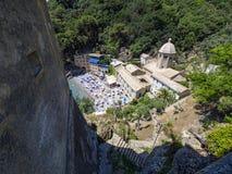 Monastère de San Fruttuoso Images libres de droits